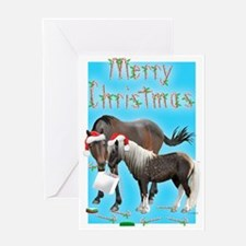 Caballo and Cisco (d) Greeting Card