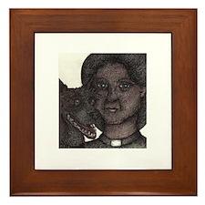 """""""The Vicars Dog"""" Framed Tile"""