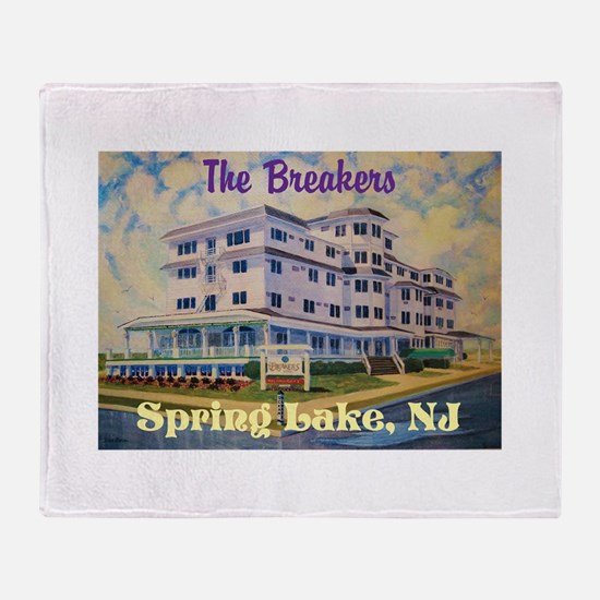 Cute Nj shore Throw Blanket