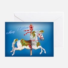 Carousel Horse (c) Greeting Card