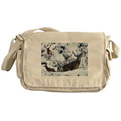 Non Typical buck deer Messenger Bag