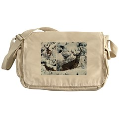 Non Typical buck deer Messenger Bag