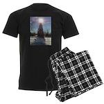 Christmas Star Men's Dark Pajamas