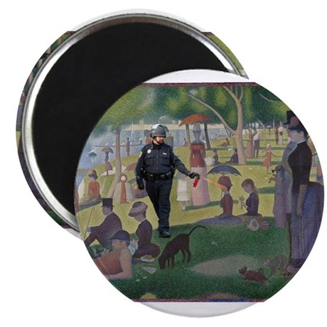 """Sunday Afternoon in The Park 2.25"""" Magnet (10 pack"""