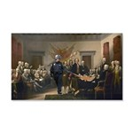 Declaration of Independence 22x14 Wall Peel