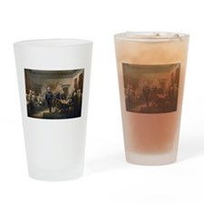 Declaration of Independence Drinking Glass