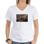 Declaration of Independence Women's V-Neck T-Shirt