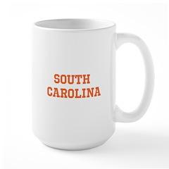 Orange South Carolina Mug