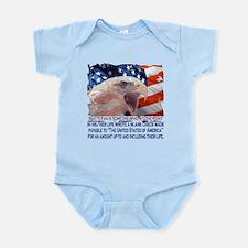 Veteran Blank Check Infant Bodysuit