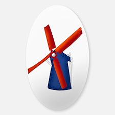 Dutch Windmill Decal