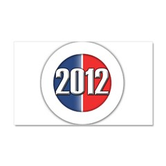 2012 Button Car Magnet 20 x 12
