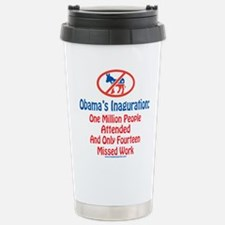 Obama's Inaguration Travel Mug