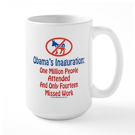 Obama's Inaguration Large Mug