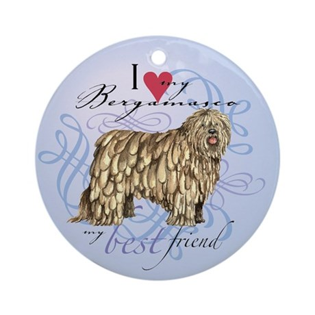 Bergamasco Ornament (Round)