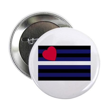 Leather pride Button