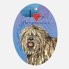 Bergamasco Ornament (Oval)