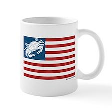Patriotic Crab Mug