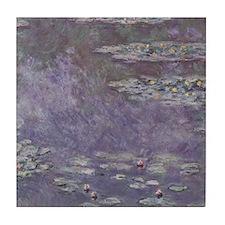Monet Waterlilies Tile Coaster