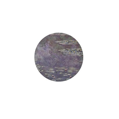 Monet Waterlilies Mini Button (100 pack)