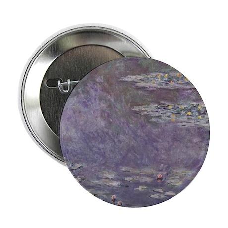 "Monet Waterlilies 2.25"" Button (100 pack)"