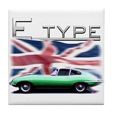 Unique English cars Tile Coaster