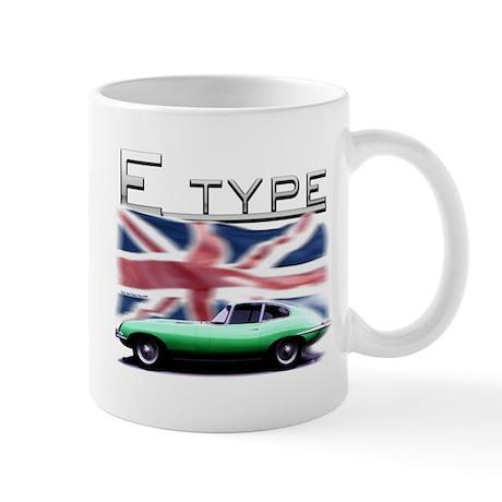 E type jag Mugs