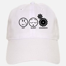 Eat Sleep Engineer Baseball Baseball Cap