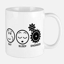 Eat Sleep Engineer Mug