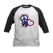 Peace, Love, Football Tee