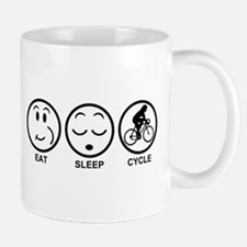 Eat Sleep Cycle (Female) Mug