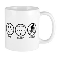 Eat Sleep Cycle (Female) Mug
