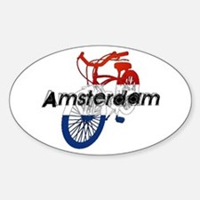Amsterdam Bicycle Decal