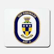 USS Coronado AGF 11 Mousepad
