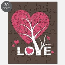 Love Grows Heart Tree Puzzle
