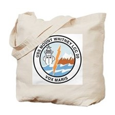 USS Mount Whitney LCC 20 Tote Bag