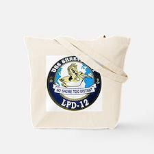 USS Mount Whitney LCC 20 Tote Bag
