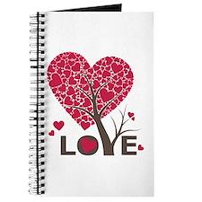 Love Grows Heart Tree Journal