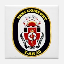 T-AH 20 USNS Comfort Tile Coaster