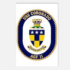 USS Coronado AGF 11 Postcards (Package of 8)