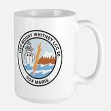 USS Mount Whitney LCC 20 Large Mug