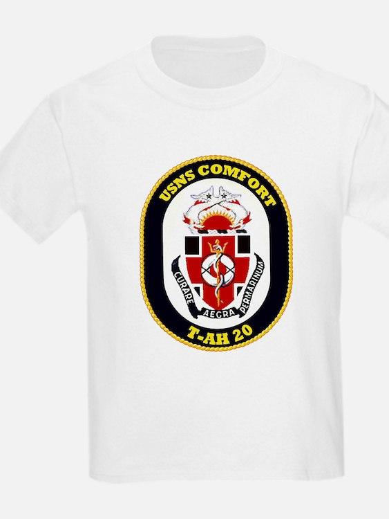 T-AH 20 USNS Comfort Kids T-Shirt