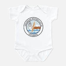 USS Mount Whitney LCC 20 Infant Creeper