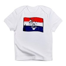 Dutch flag with sketch Infant T-Shirt