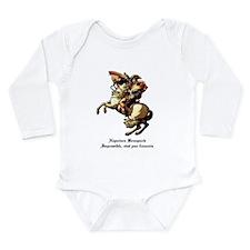 Napoleon Long Sleeve Infant Bodysuit