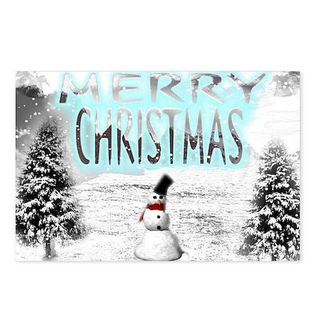 Jmcks Merry Christmas Postcards (Package of 8)