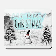 Jmcks Merry Christmas Mousepad