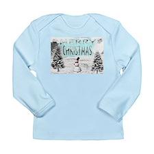 Jmcks Merry Christmas Long Sleeve Infant T-Shirt