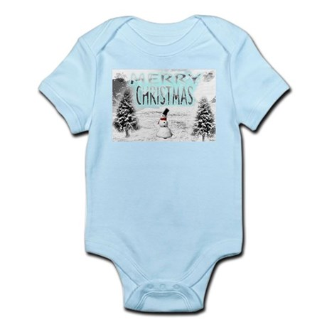 Jmcks Merry Christmas Infant Bodysuit