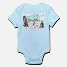 Jmcks Merry Christmas Infant Bodysuit