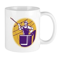 telephone line worker Mug